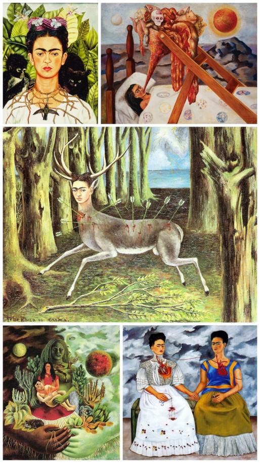 Obras Frida Kahlo